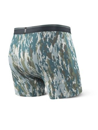 Bokserki męskie QUEST BOXER BRIEF FLY PR Bark Camo