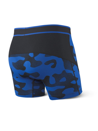 Bokserki męskie SAXX Kinetic Boxer Brief Blue Melt