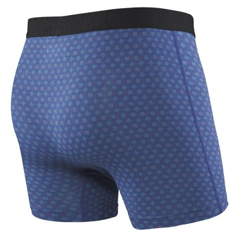 Bokserki męskie SAXX Undercover Boxer Brief Blue Scratches