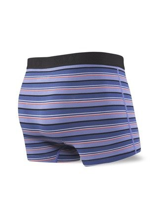 Bokserki męskie SAXX Vibe Trunk Purple Coast Stripe