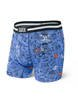 Bokserki męskie SAXX Vibe Boxer Brief Blue First And 10 M